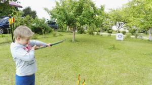 Šaudymo pamokos vaikams