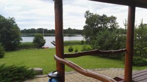 Vaizdas iš sodybos terasos